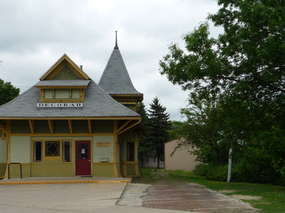 Decorah   Milwaukee Road Depot