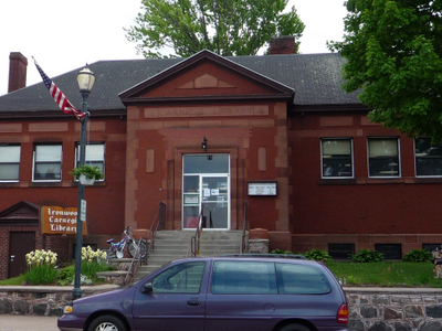 Carnegie Library   Ironwood