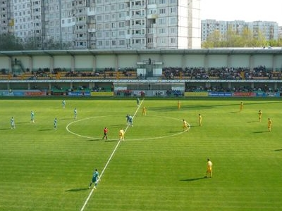 Zimbru Stadium In Spring 2010