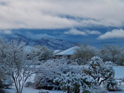 Oro Valley Snowfall