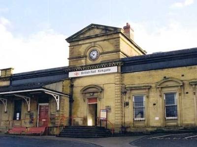 Wakefield Kirkgate Railway Station