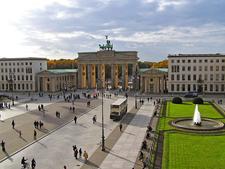Pariser Platz With The Brandenburg Gate