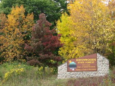 Havenwoods State Forest Entrance