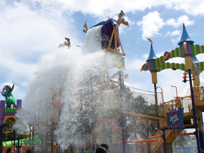 The Count's Splash Castle