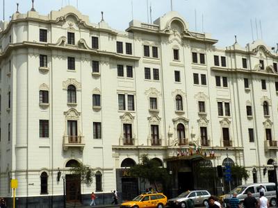 Lima  Hotel Bolivar