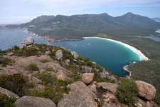 Wineglass Bay And The Hazards From Mt Amos Peak
