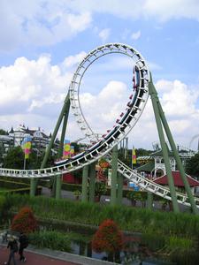 Part Of The Roller Coaster Big Loop
