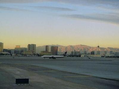 McCarran International Airport's Main Taxiway