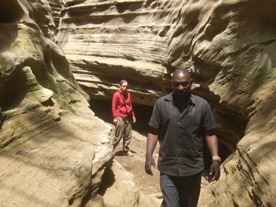 Ol Duvai Gorge, Hell's Gate National Park.