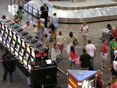 Slot Machines At The Baggage Claim