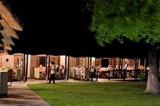Mokuti Etosha Lodge Dining Room Outdoor