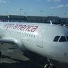 A Virgin America Airbus A319 At Terminal 6