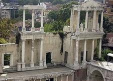 Bulgaria Plovdiv Old Theatre