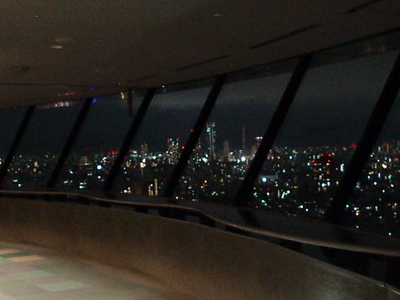 Observation Deck At Night