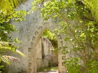 Abandoned Church At Boddam Island, Salomon Atoll