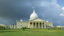 Capitol Building In Ngerulmud