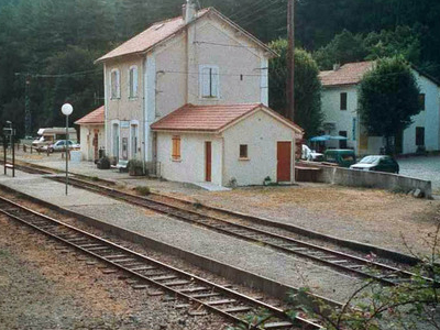 The Railway Station In Vizzavona