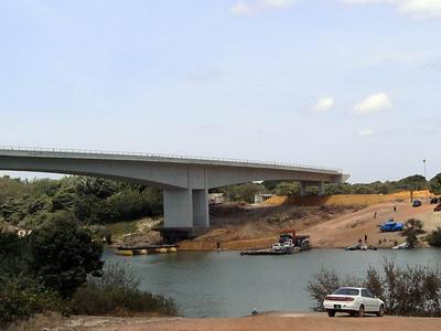 New Guyana - Brazil Bridge On Takutu River In Lethem