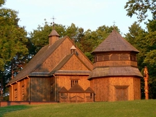 18th Century Wooden Church In Palūšė