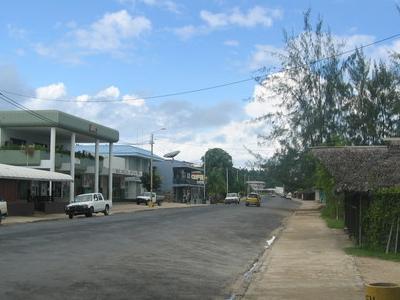 Luganville Main Street