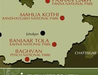 Taj Mp Resorts Map