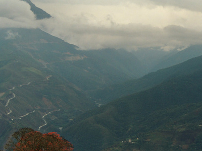The New Yungas Road, As Seen From Coroico