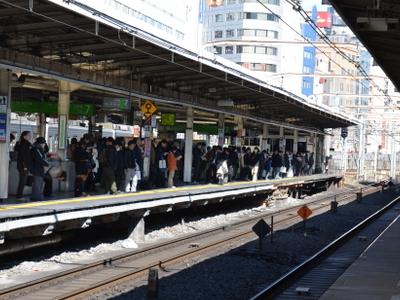Yamanote Line, Platform 6
