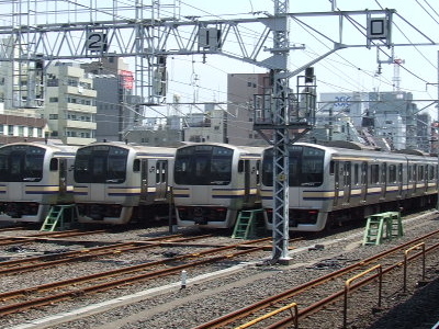 JR Sōbu Line Trains