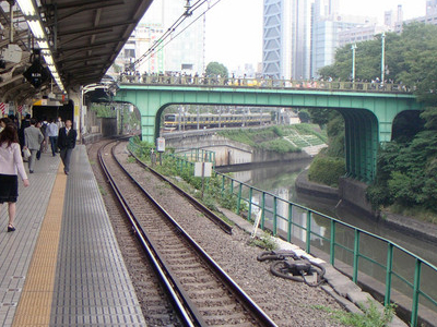 The Kanda River At Ochanomizu Station