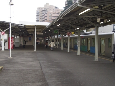 View Of The Seibu Platforms