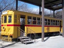Former Toei 6000 Series Tramcar Number 6080