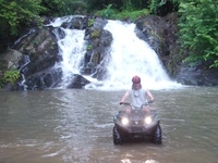 Atv Waterfall