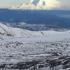 Mount Adams As Seen From Mount St. Helens