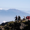 Mount Asama From Mount Aka