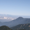 Mount Tateshina And Hida Mountains From Mount Aka