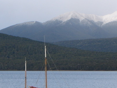 A Boat On Lake Te Anau
