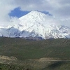 View Of Mount Damavand From Haraz Road