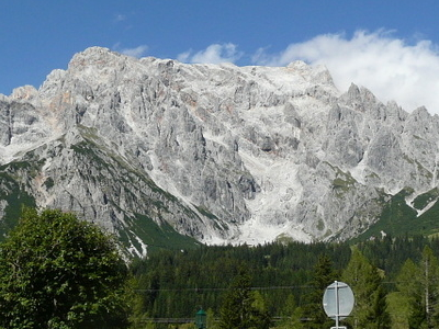 Hochkönig Seen From The Dientner Sattel At The B164
