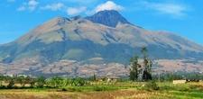 Imbabura With Sugarcane Fields