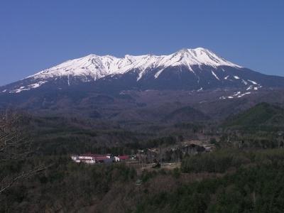 Mount Ontake In Spring