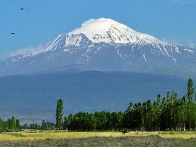 View Of Ararat From Iğdır