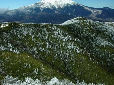 Mount Ontake From Mount Kohide