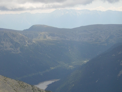 The Pirin Mountains From Musala