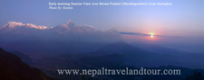 Sunrise View From Sarangkot