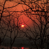 Sun Setting Over Sakoli Lake