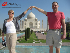 Visit Taj Mahal On Christma