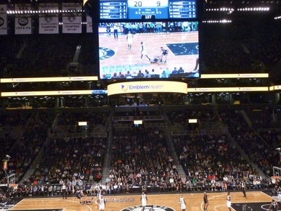 Interior View Of The Barclays Center