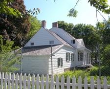 The Lott House Under Restoration