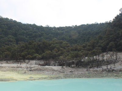 View Of Kawah Putih