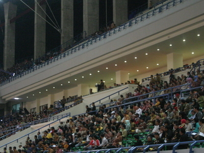 Inside Of Palaran Stadium